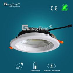 L'aluminium vers le bas de lumière LED lumière COB 5W/10W/15W/18W/24W/30W de l'éclairage de plafond