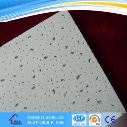 Sandy fibre minérale Conseil/plafond dalle de plafond acoustique