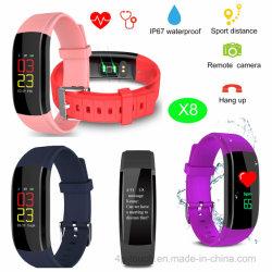 Новый дизайн Smart фитнес-Band с X8 для измерения артериального давления