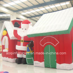 Рождество рекламы каркасных надувных судов с Санта Клаусом продукта (AQ5726)