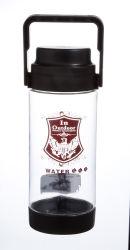 La mejor calidad del producto de alta capacidad de plástico ecológico 1500ml 2000ml 70oz portátil de viaje Viajes Deportivos el espacio la botella de agua