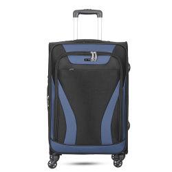 라이트급 선수 4 바퀴 연약한 폴리에스테 트롤리 상자는 여행 가방 20의 24의 28 인치로 놓았다