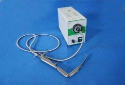 Bloc d'éclairage de fibre optique de DEL avec le rétracteur