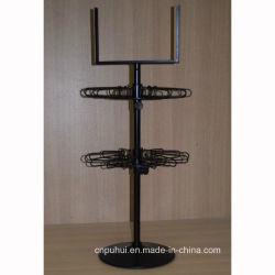 Camada de estacas Spinner Chaveiros Exibir Rack com Sistema de Bloqueio (PHY1004)