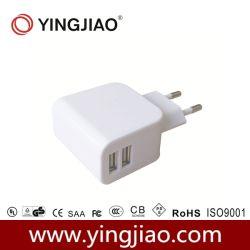 5V 3.1A 16W DC adaptador de corriente USB doble