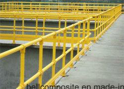 Main courante de la PRF/matériaux de construction/l'échelle en fibre de verre/clôture / rambarde