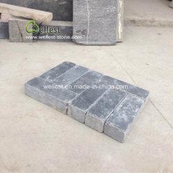 Secar ao ar livre Bluestone Pavimentadoras de alvenaria, tijolo Pedra de calçada de pedra calcária azul