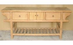 Китайский старинной деревянной алтарь таблица Lwd484
