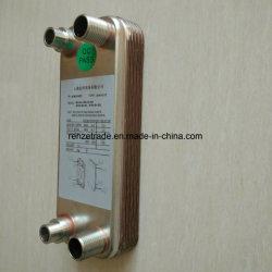Cambista de calor soldado da placa do ventilador da recuperação de energia cobre Refrigerant industrial