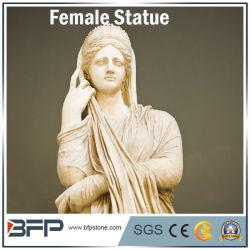 Personalizar la escultura tallada de estilo occidental, figura la estatua de granito para la decoración de jardín