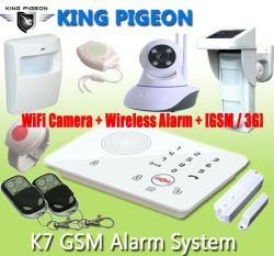 GSM 3G Alarm Voice Auto Dialer met Touch Keypad