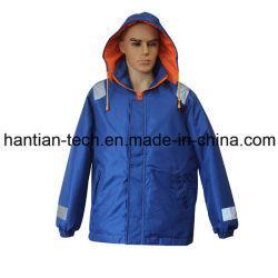 Tripulação marinho aquecer mantendo Coletes de vestuário de trabalho global flutuante azul