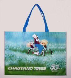 Promotion de l'OPP Non-Woven feuilleté Sacs de transport de cadeaux pour les vêtements (FLN-9109)