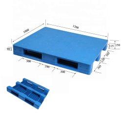 Solo se enfrentan los palets de plástico de alta calidad para almacén de apilamiento de múltiples