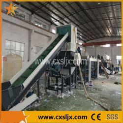 500 kg/H Resíduos de película de PE a linha de lavagem