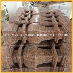 De natuurlijke Baluster van het Graniet van de Steen van de Esdoorn Rode G562 Marmeren voor Leuning