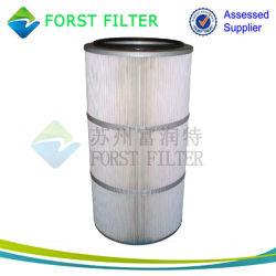 Forst AmanoのHDPEによってリサイクルされるプラスチック集じん器のろ過材