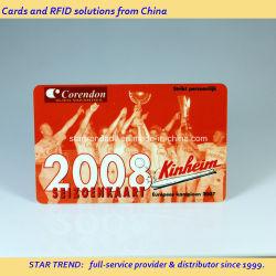 Cr80 Размер печати ПВХ пластиковые карты для бизнеса/членство и продвижения по службе/подарка/лояльности клиентов