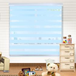 Stores à rouleau tissu personnalisé Zebra rideau de volets de fenêtre