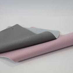 Couleur Rose Anti-Wildew Canapé-concepteur étanche en PVC artificielle avec tissée pour les sacs en cuir