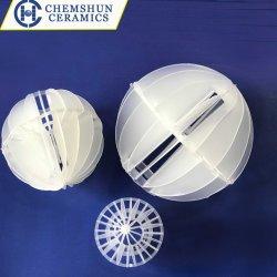 Le plastique PP RPP Multi-Faced PVDF hollow balle pour le traitement de l'eau