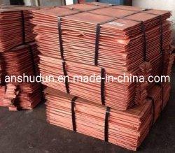 等級AAの販売のための裸の銅のスクラップの銅の陰極99.9%