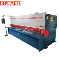 QC12y 10X4000 CNC Edelstahl Guillotinscherscheren Maschinen
