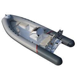 Nouveau modèle de 5,2 m ce Yacht Côte d'Aviron gonflable à coque en fibre de verre nervure des courses de bateau
