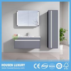 Beatuiful colores doble Diseño de armarios de inodoro con el lado de la vanidad de HS-B1103-900