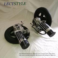24V 276W 120tr/min d'alimentation droit et gauche du fauteuil roulant électrique des moteurs avec contrôleur de levier du Joystick &