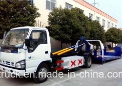 6 camion di Wrecker a base piatta idraulico di bassa potenza di rimorchio di ripristino della strada del Wrecker dell'elemento portante di automobile di Isuzu 5tons 8tons della rotella con l'argano