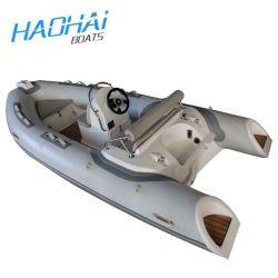 Rib die van Hull van de Vissersboot van de Glasvezel van de Boot van de Rib van de Sport van Ce Rib430 de Stijve met Buitenboordmotor vissen