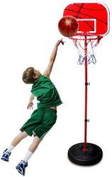 Mini cerchio registrabile del giocattolo di sport del piano di sostegno di pallacanestro impostato per i capretti