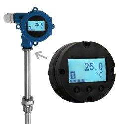 Mischmethoden integrierten intelligenten Digitalanzeigen-Temperatur-Übermittler mit 4~20 Ausgabe MA-DC/Hart