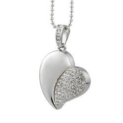 Aandrijving van de Flits van de Juwelen de Model16GB USB 2.0 van het hart