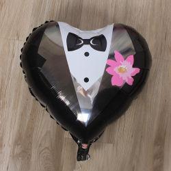 Helium Balloon Mit Hochkarämiähiges Aluminiumballon