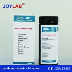 De Stroken van de Test van de urine 10 Nauwkeurige Resultaten van Parameters (50/100/150 van stroken) in Duurzame Rendabel van de Reactie van Seconden Snelle