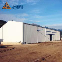 Fácil montaje Pre-Engineering edificio de acero estructural fabricado en China