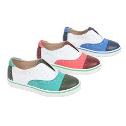 Loisirs Loem à la main en cuir véritable Chaussures Oxford pour les enfants