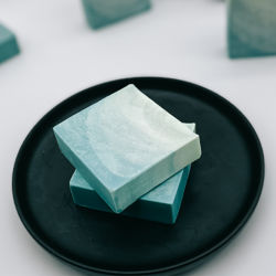 O sabor do sal do mar personalizada Sabonete Leite Sabonete Natural artesanal de sabão