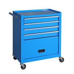 Petite 5 tiroirs pousser l'outil à main Panier avec porte à entreposer les outils