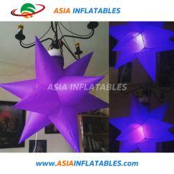 LED infláveis Star para decoração/ Estrela de iluminação para o Natal