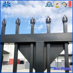 Recinzione in alluminio saldato a trivello ornamentale, recinzione in metallo, pannello recinzione per giardino/vialetto/casa/fabbrica