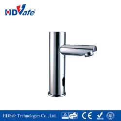 Capteur de laiton à poignée unique bassin Appuyez sur le robinet électronique avec boîte de contrôle de la batterie