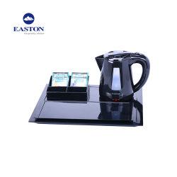 Горячий продавать 0,8 л, отель черного цвета пластиковых электрический чайник