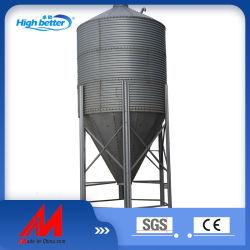 Mejor calidad de depósito de almacenamiento de grano galvanizado silo