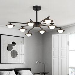 Nuovo lampadario a bracci moderno nordico della sala da pranzo della camera da letto dell'indicatore luminoso del salone