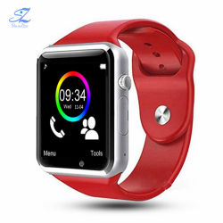 A1 손목 시계 Bluetooth Smart Watch Sport Pedometer 및 SIM 카메라 Android Phone용 스마트워치