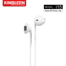 Kopfhörer in den Ohr-Kopfhörern Earbuds mit Mikrofon und Lautstärkeregler für stecker-Einheit-Schwarzes des iPhone androides Smartphone Tablette-Laptop-3.5mm Audio