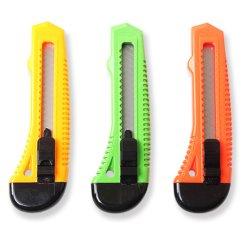 Couteau à lame ABS Cutter professionnel de la sécurité Boîte utilitaire de la faucheuse couteau rétractable (CC002)